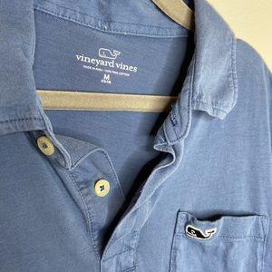 Vineyard Vines boys Blue polo shirt- size M